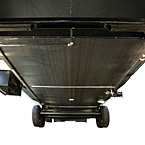 Standard under belly to protect trailer