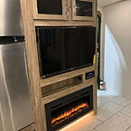 Entertainment Center Fireplace Option