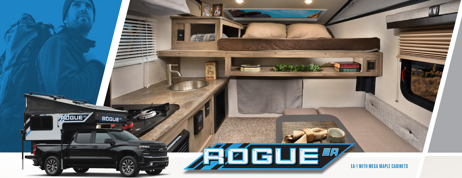Rogue Truck Campers RVs