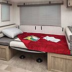 "Settle in for a great time. The versatile 30DBSC's 84"" radius U-dinette converts to a comfortable sleeping area."