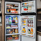 11 Cu. ft. 12V double door refrigerator/freezer