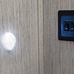 Bathroom LED motion sensor light